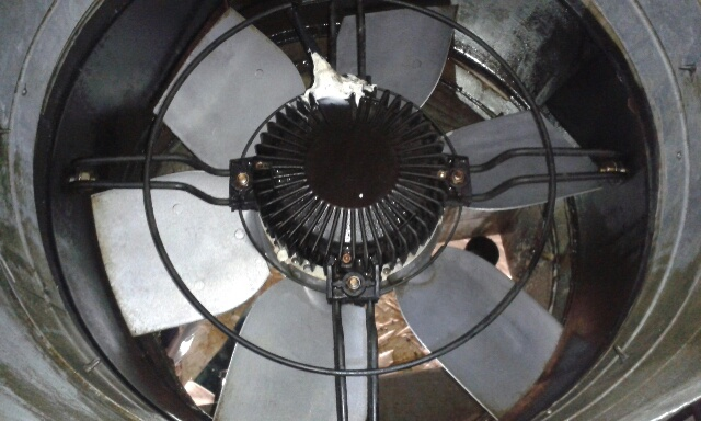 Fan post cleaning