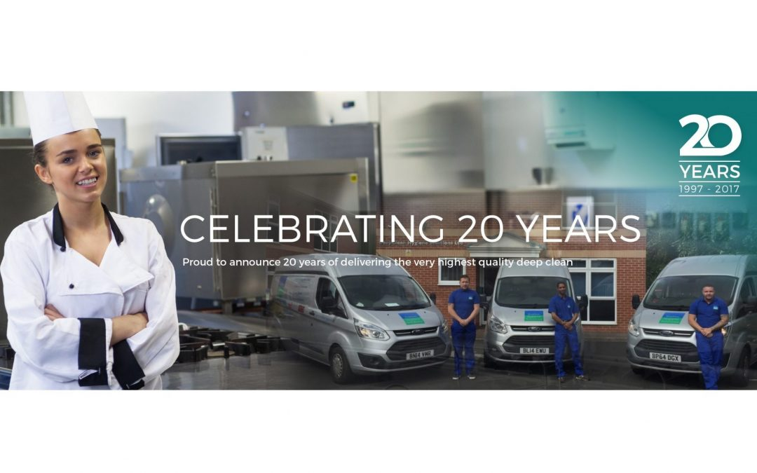 Celebrating 20 Years in Commercial Cleaning