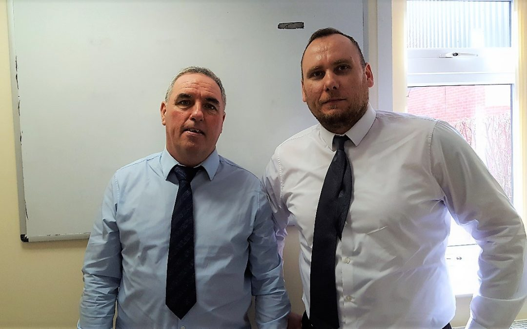 Promotions for Mark Clerkin and Adam Urbanowicz